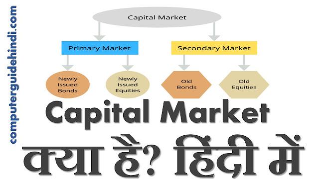 Capital Market क्या हैं? हिंदी में