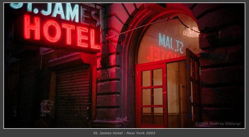 New York Neon Hotel Neon The St James Hotel