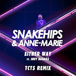 Snakehips & Anne-Marie - Either Way (feat. Joey Bada$$) [TCTS Remix] - Single Cover