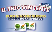 Logo Concorso Chanteclair Vert '' Il Trio vincente-speciale Ali e Aliper'' : vinci 100 card da 50 euro