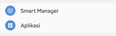 fitur smart manager samsung
