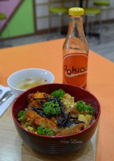 Katsudon Teriyaki Curry Dokioo Dessert
