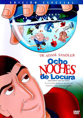 Eight Crazy Nights 2002 DVDR NTSC Latino