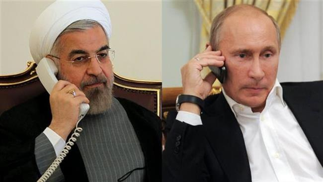 Presidents of Iran and Russia discuss JCPOA implementation, Middle East developments