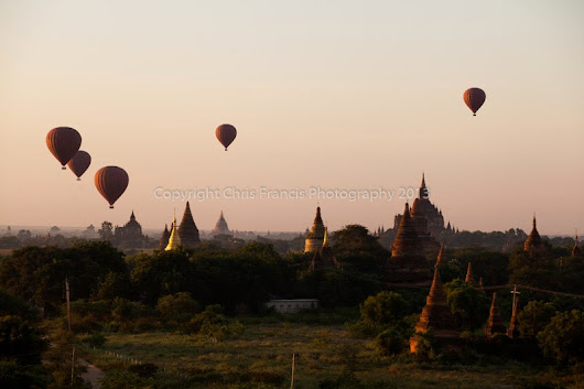 Bagan, Myanmar - temples as far as the eye can see