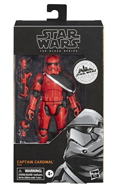 Hasbro's Star Wars The Black Series Captain Cardinal Star Wars Galaxy's Edge Target Merchandise