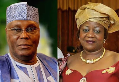 Atiku Sues Buhari's Aide, Onochie, Demands N2.5bn Damages
