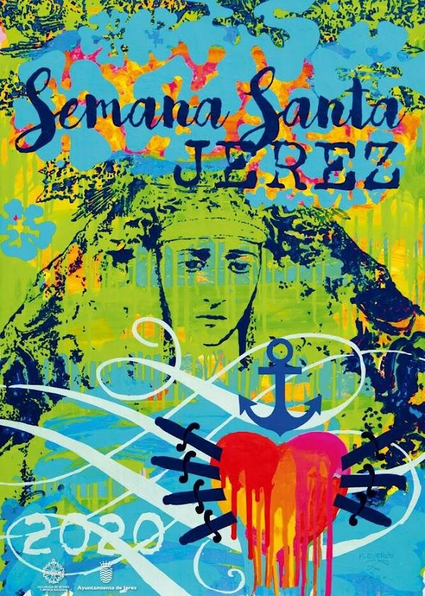 Sorprendente Cartel de la Semana Santa Jerez 2020