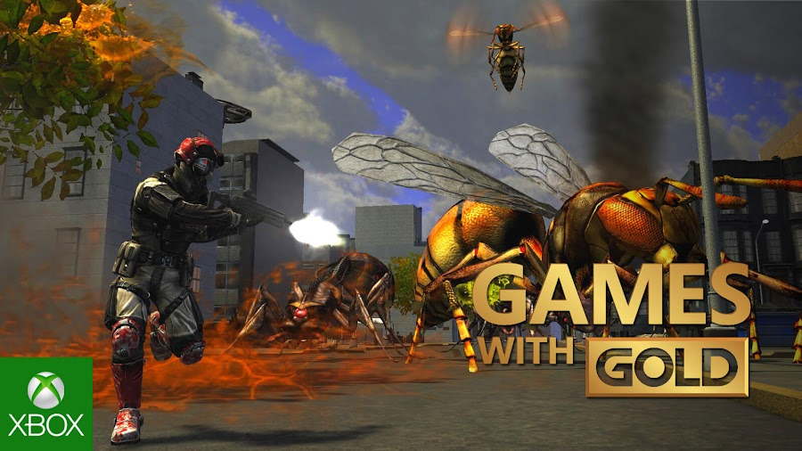 earth defense force insect armageddon xbox live gold free game