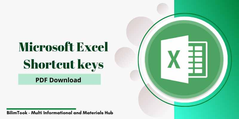 Microsoft Excel Shortcut keys - PDF Download