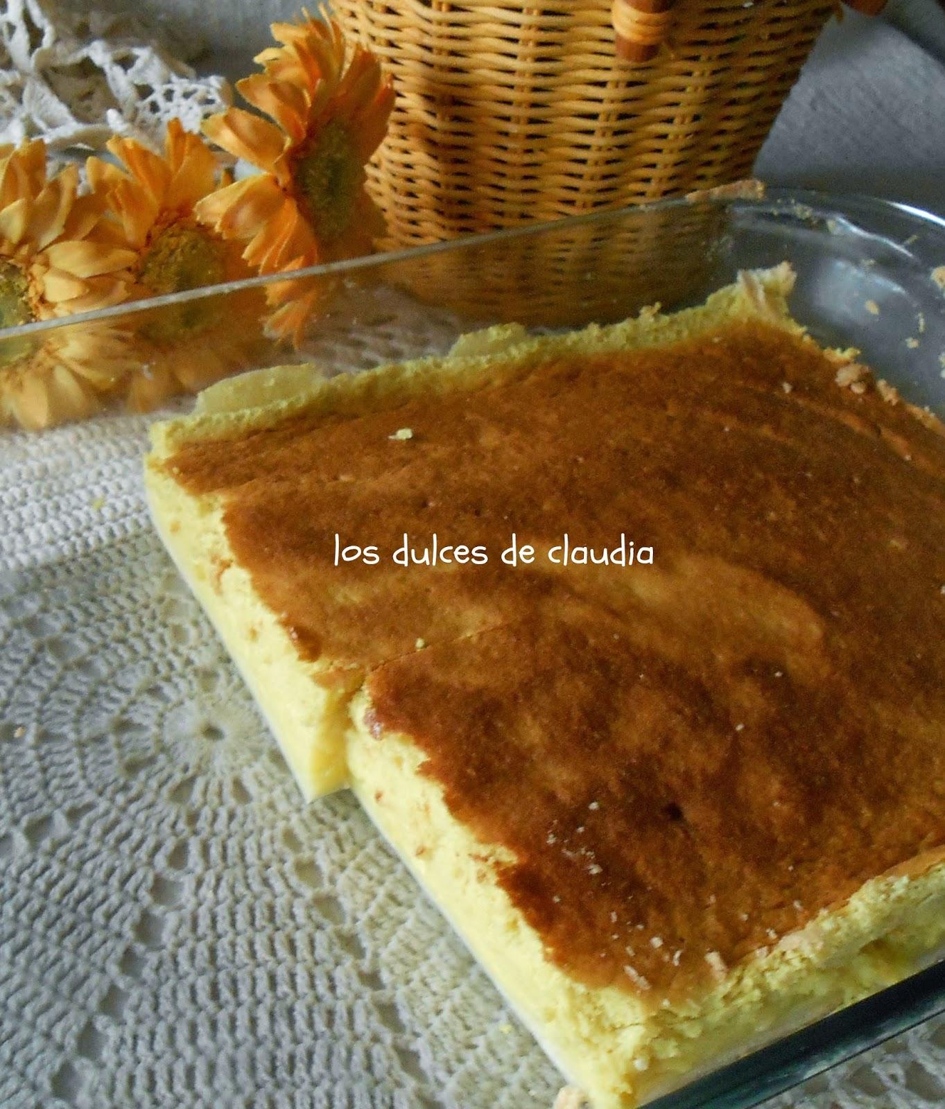 tarta esponjosa de limon