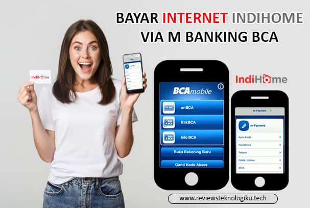 bayar internet indihome di m banking bca