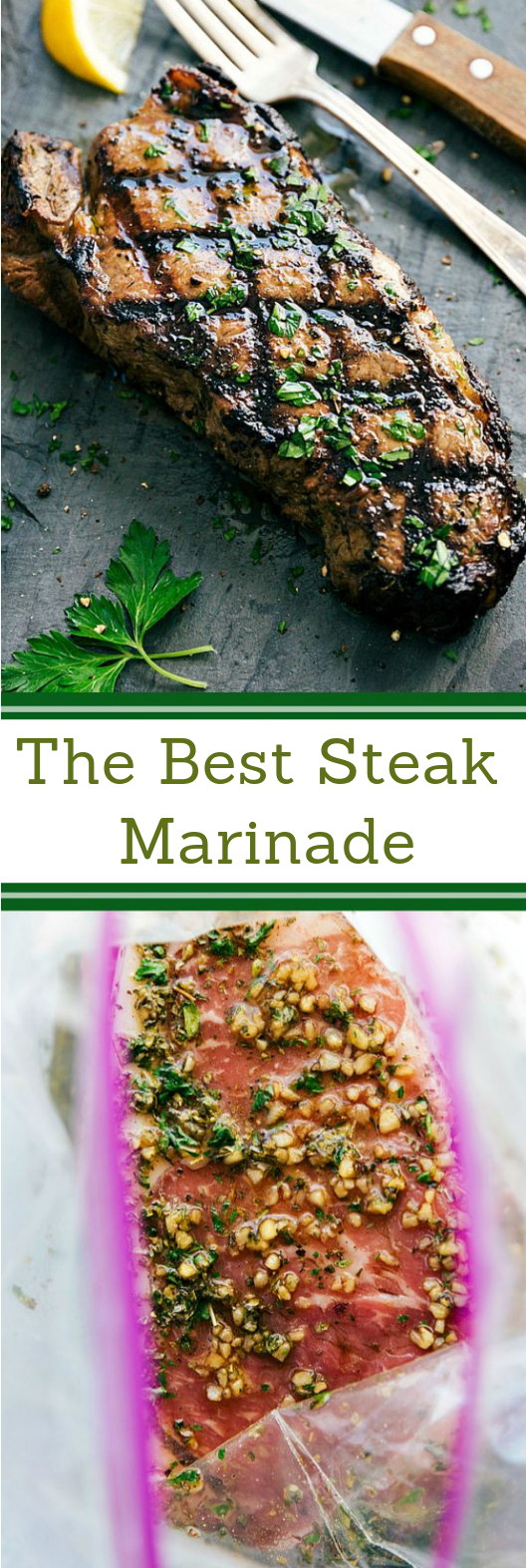 Easy Steak Marinade #dinner #steak