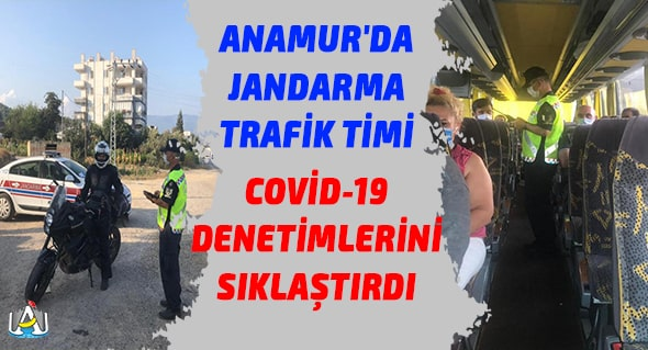 Anamur Jandarma,Anamur Haber,Anamur Son Dakika,Corona Virüsü,