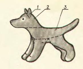 Игрушка собачка своими руками