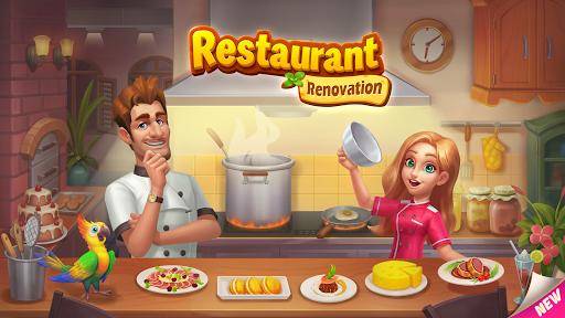 تحميل لعبة Restaurant Renovation مهكرة كلشي لا نهاية