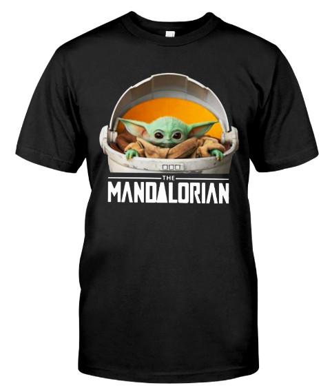 The mandalorian t shirt yoda mandalorian Hoodie. GET IT HERE