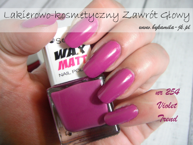 Lakiery My Secret Wax Matt -  Violet Trend
