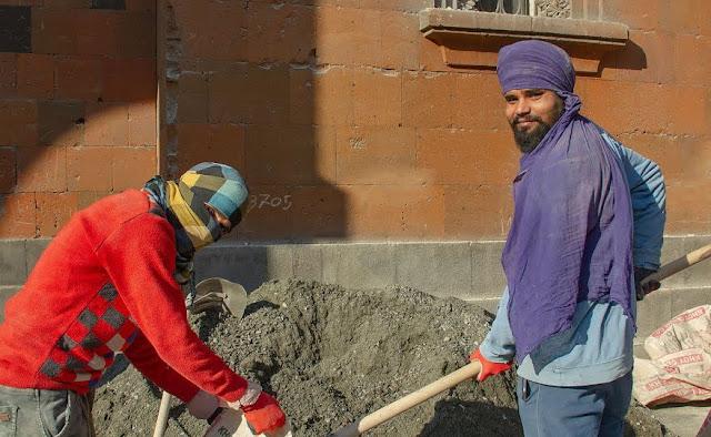 15.000 ciudadanos indios como mano de obra barata en Armenia