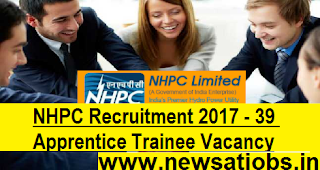 NHPC-Recruitment-39-Apprentice-Trainee