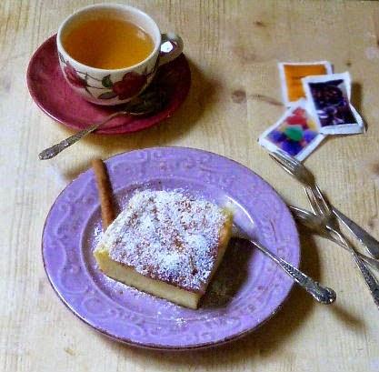 galatopita, dolce semplice e delizioso di latte e semolino