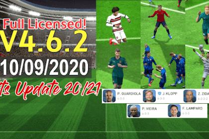PES Mobile 2020 UCL FULL LICENSED | TRIZR PATCH V4.6.2