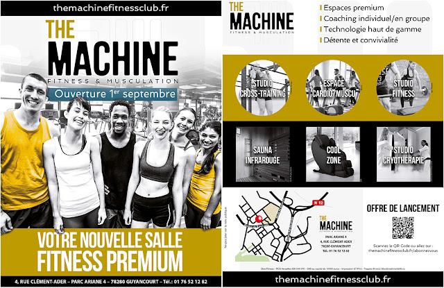 Salle Fitness - Offre de lancement
