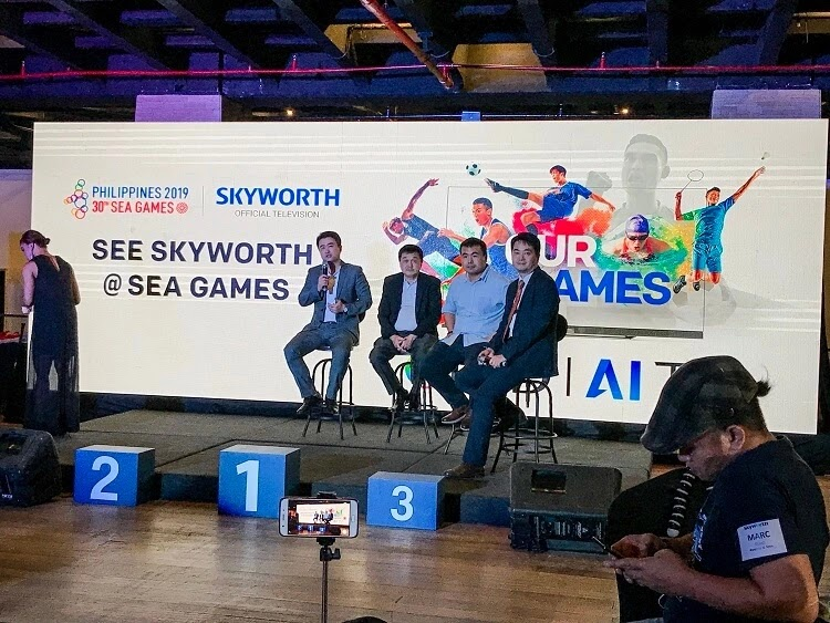 SKYWORTH is the Official Television Partner of the 30th SEA Games, Launches Big TV Nationwide Promo