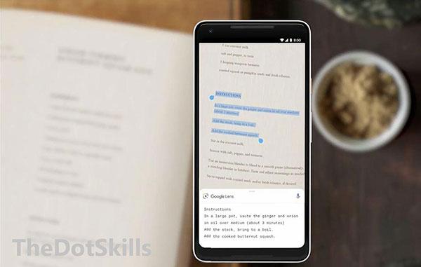 Google Lens : Comment copier du texte imprimé sur votre Ordinateur?