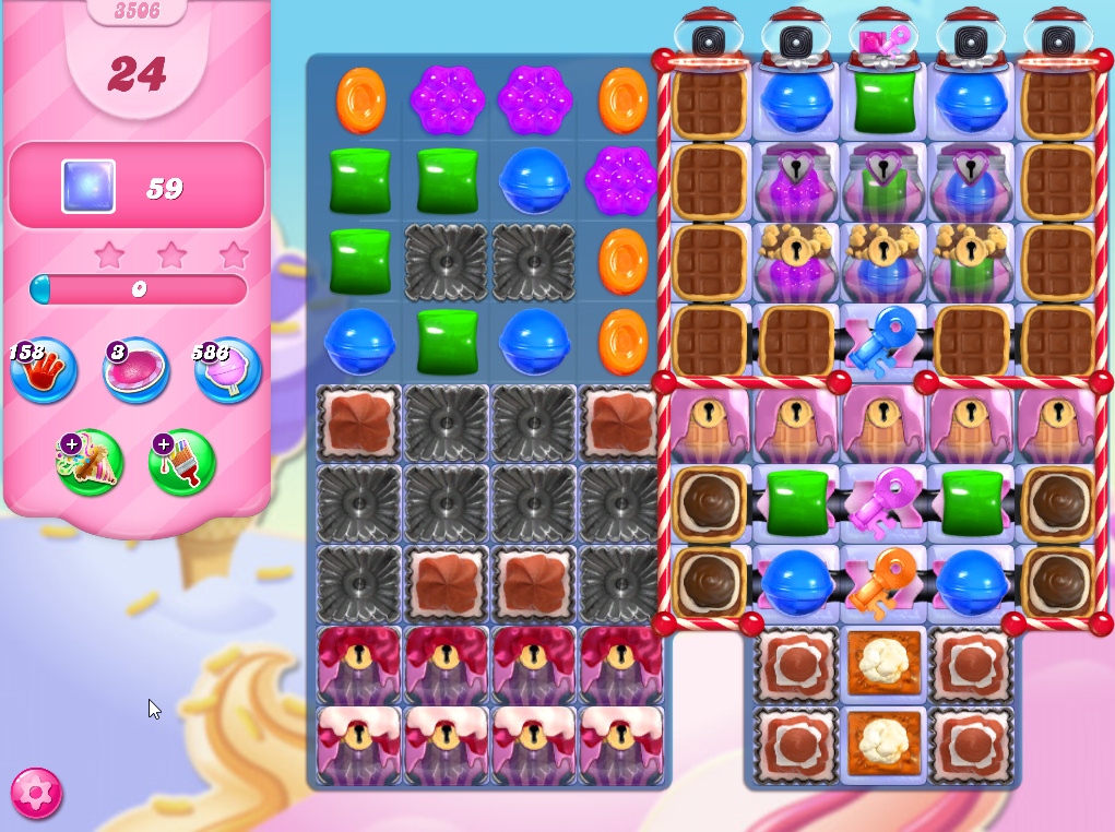 Candy Crush Saga level 3506