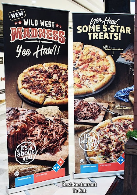 Domino's Wild West Madness Promotion