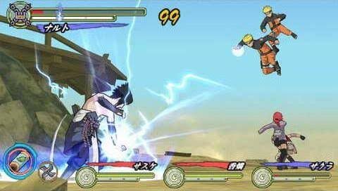 Naruto Shippuden: Ultimate Ninja Heroes 3 (USA) PSP ISO Screenshots #3