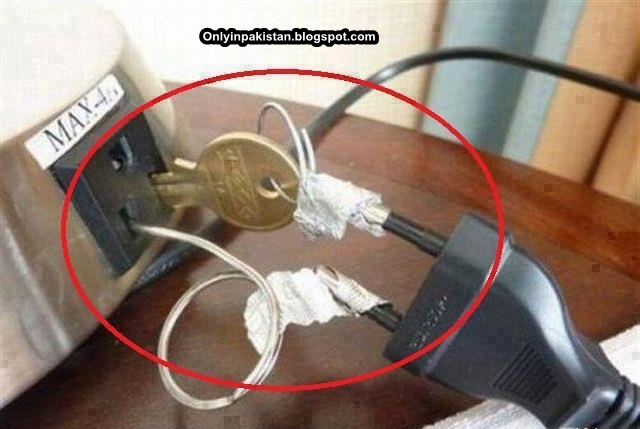 Funny Pakistani Mobile Charger
