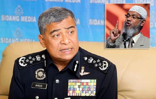 Polis Arah Batal Program Zakir Naik Di UTeM Melaka