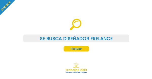 Empleo: Se busca Diseñador Freelance