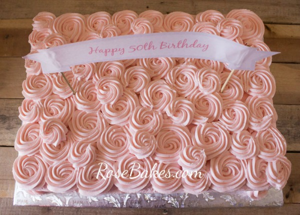 Cream Cheese Buttercream Frosting from Rose Bakes