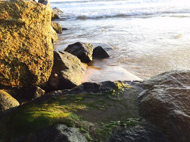 Newport Beach jetty