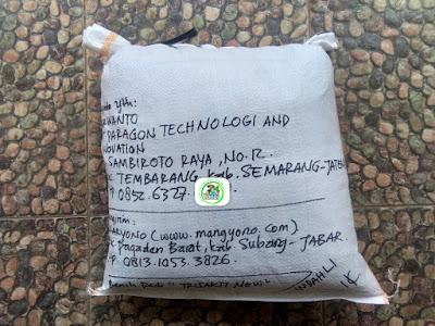 Benih pesanan PURWANTO Semarang, Jateng.   (Setelah Packing )