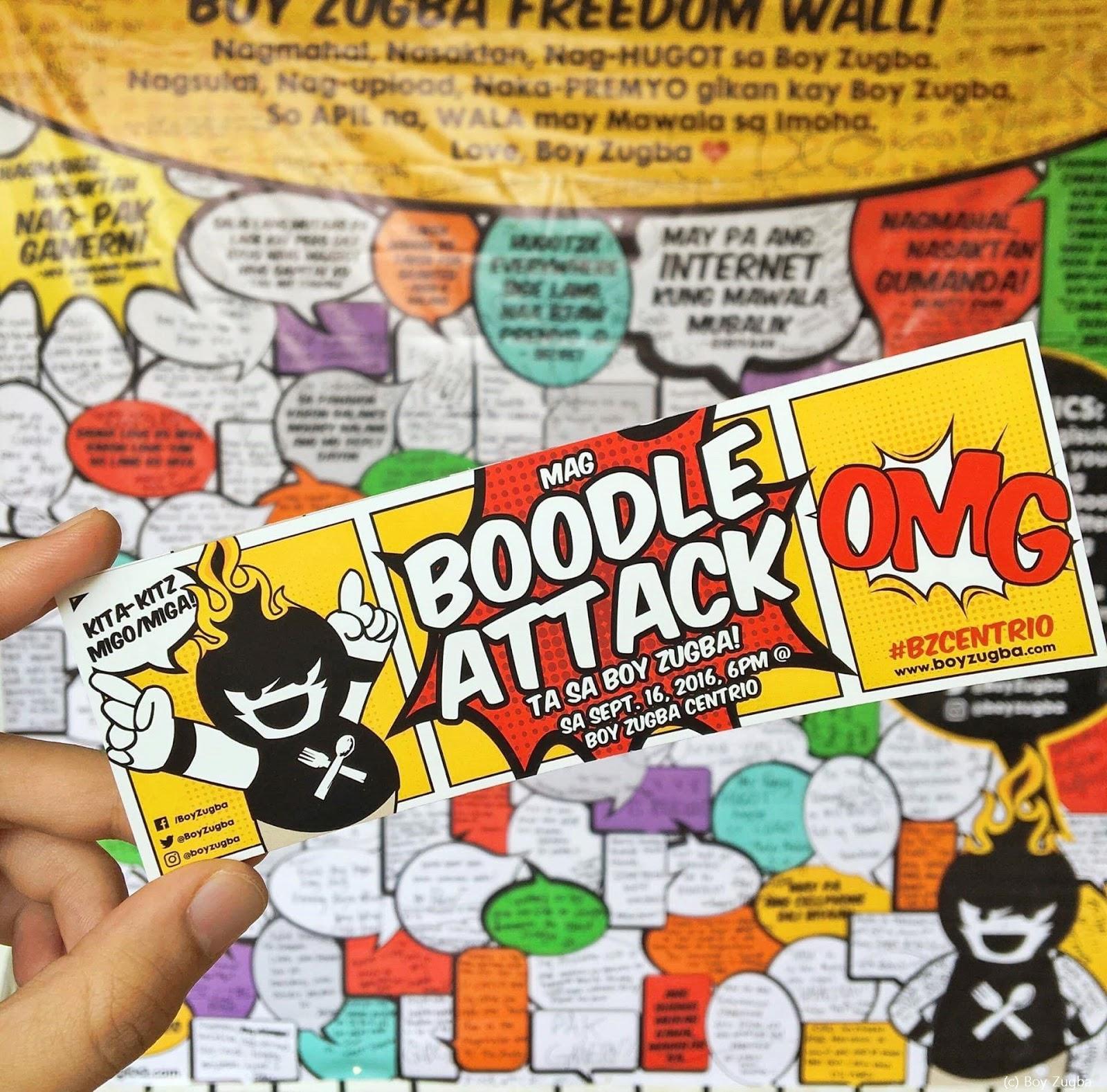 Boy Zugba - Kusina Bisaya   Boodle Attack Invitation