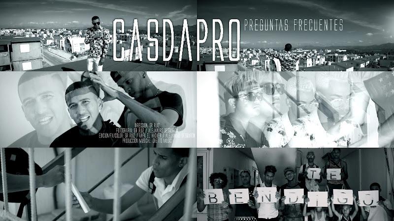 Casdapro - ¨Preguntas Frecuentes¨ - Videoclip - Dirección: GR Ruiz. Portal Del Vídeo Clip Cubano