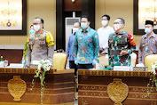 Kapolda Kalteng Hadiri Rakor Bersama Mendagri RI Tito Karnavian