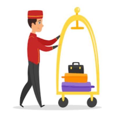 teknik atau metode penanganan barang bawaan tamu hotel. metode atau teknik mengangkat barang bawaan tamu, cara dalam menangani barang bawaan tamu