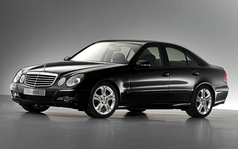 Armored Mercedes-Benz S600 Guard