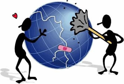 Ilustración al Día de la Tierra para niños