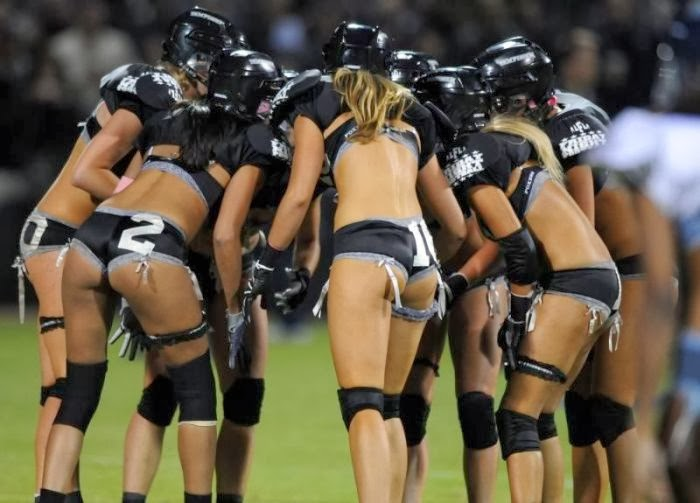 The Lingerie Bowl sexy