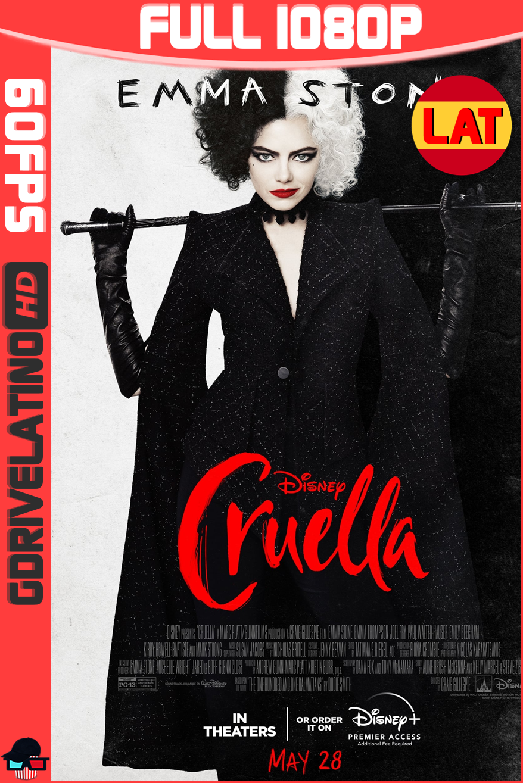 Cruella (2021) DSNY+ WEB-DL 1080p (60 FPS) Latino-Ingles MKV