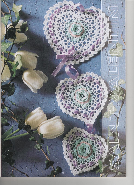 Открытка с цветами вязанные крючком, задания