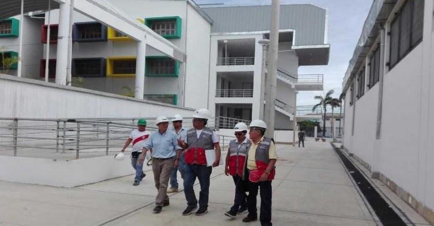 PRONIED: Obras de mejoramiento en colegio emblemático de San Martín culminarán en diciembre - www.pronied.gob.pe