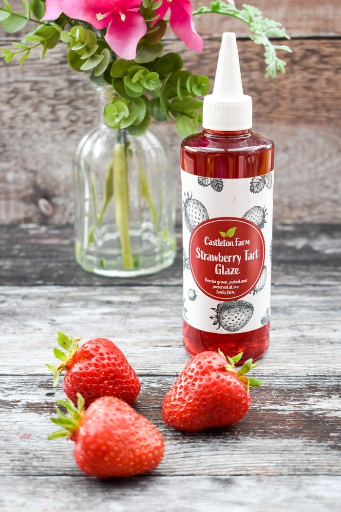 Castleton Farm Strawberry Tart Glaze