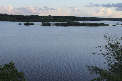 Resultado de imagem para fotos da barragem campo grande